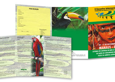 Folder Abpvs Manaus