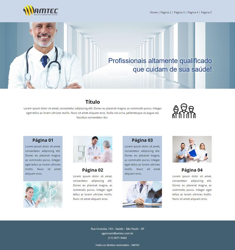 155d613e1e18 Criação de Site para Médicos e Clínicas Médicas - AMTEC